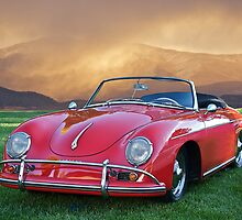 1959 Porsche 356 Cabriolet by DaveKoontz