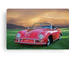 1959 Porsche 356 Cabriolet Canvas Print