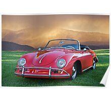 1959 Porsche 356 Cabriolet Poster