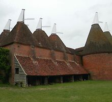 Kentish Oast Houses - Kent / England by AllJDesigns