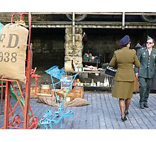 Wartime Weekend Photographic Print