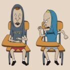 beavis and butthead t-shirt by fabbri