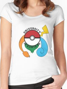 Pokemon - University Of Kanto '96 Women's Fitted Scoop T-Shirt