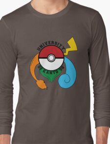 Pokemon - University Of Kanto '96 Long Sleeve T-Shirt