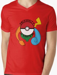 Pokemon - University Of Kanto '96 Mens V-Neck T-Shirt