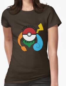 Pokemon - University Of Kanto '96 Womens Fitted T-Shirt