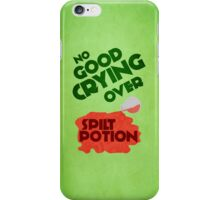 No Good Crying Over Spilt Potion iPhone/iPod case iPhone Case/Skin