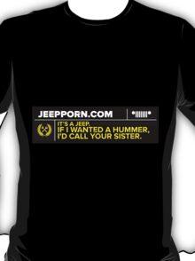 JeepPorn.com Saying T-Shirt
