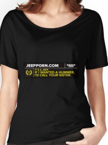 JeepPorn.com Saying Women's Relaxed Fit T-Shirt