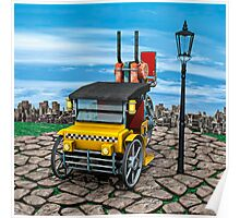 Steam Cab-Taxi  Poster