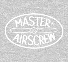 Master Airscrew Logo (White) One Piece - Long Sleeve