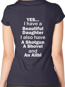 Beautiful Daughter Women's Fitted Scoop T-Shirt