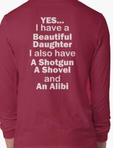 Beautiful Daughter Long Sleeve T-Shirt