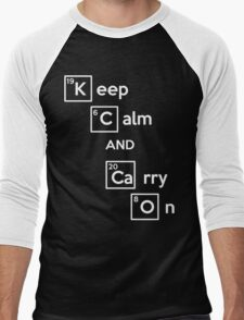 Keep Calm And Carry On (Breaking Bad) Men's Baseball ¾ T-Shirt