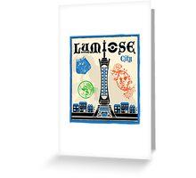 Lumiose City Greeting Card