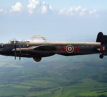 Dambusters Lancaster AJ-N by Gary Eason + Flight Artworks