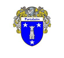 Portalatin Coat of Arms/Family Crest Photographic Print