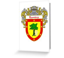 Ramírez Coat of Arms/Family Crest Greeting Card