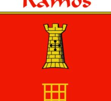 Ramos Coat of Arms/Family Crest Sticker