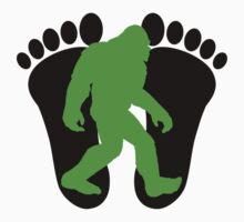 Neon Green Bigfoot T-Shirt