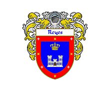 Reyes Coat of Arms/Family Crest Photographic Print