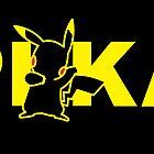 Pikachu pokemon poster by CrumpetKing