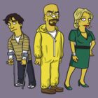 The White Family: Breaking Bad by Simpsonized