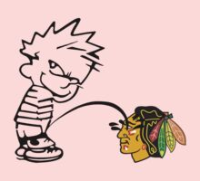 Pissing On The Blackhawks by Alsvisions