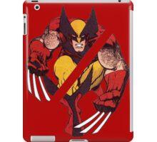 Wolverine Sliced (Red) iPad Case/Skin