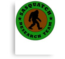 Sasquatch Research Team Canvas Print