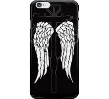 Daryl Dixon wings crossbow iPhone Case/Skin