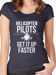Helicopter Pilots GIUF Women's Fitted Scoop T-Shirt