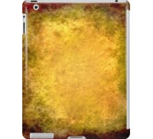 Abstract Golden iPad Case Old Retro Cool Grunge Texture Vintage  iPad Case/Skin