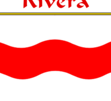 Rivera Coat of Arms/Family Crest Sticker