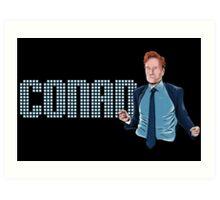 Conan O'Brien - Comic Timing Art Print