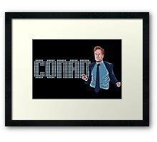 Conan O'Brien - Comic Timing Framed Print