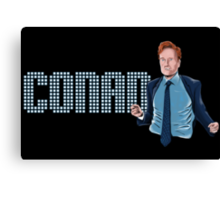 Conan O'Brien - Comic Timing Canvas Print