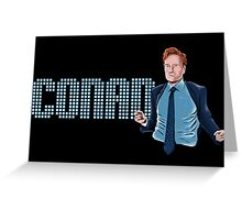 Conan O'Brien - Comic Timing Greeting Card