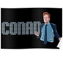 Conan O'Brien - Comic Timing Poster