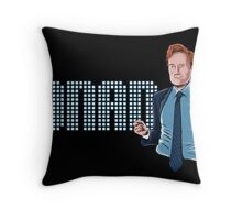 Conan O'Brien - Comic Timing Throw Pillow