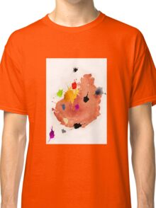 Abstract watercolor blots Classic T-Shirt