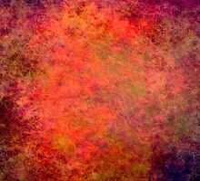 Colorful Abstract iPad Case Modern Cool New Grunge Texture by Denis Marsili - DDTK