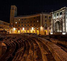 The Ampitheatre - Lecce by Adam Carra