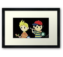 Lucas and Ness Framed Print