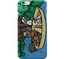 Teddy Bear And Bunny - Ignorance Is Bliss iPhone Case/Skin