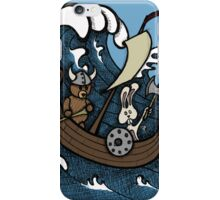 Teddy Bear And Bunny - Rape And Pillage  iPhone Case/Skin