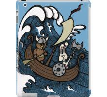 Teddy Bear And Bunny - Rape And Pillage  iPad Case/Skin