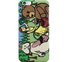 Teddy Bear and Bunny - Hidden Treasures iPhone Case/Skin