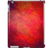 Crazy Red Abstract iPad Case Cool Grunge Texture iPad Case/Skin