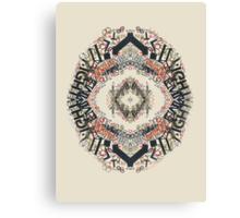 Radial Typography  Canvas Print